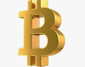 Bitcoin Symbol 3D model