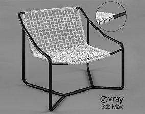 3D Dockside Lounge Chair Palecek Dockside