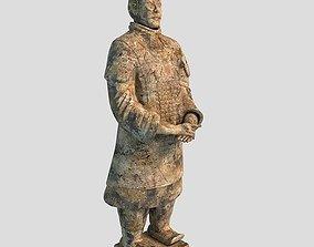 Soldier statue 3D