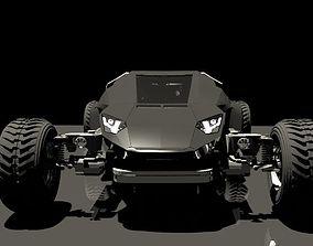 3D model Car 4x4