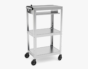 3D Medical Mobile Computer Cart