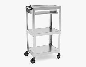 3D Medical Mobile Computer Cart