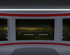 3D asset Galatic View Room for VR