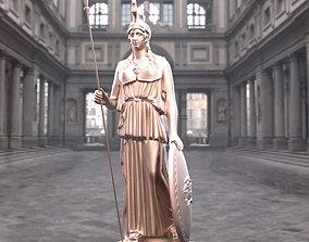 Athena Statue 3D