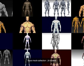 base mesh collection 3D model