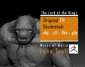Cave Troll - The Lord of the Rings 3D print model