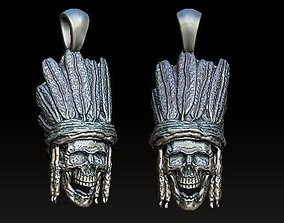 Indian chief 3D print model