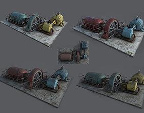 Diesel generator Texture Pack 3D