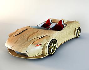 3D model Ferrari amg