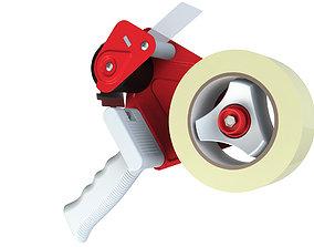 Tape dispenser 3d 3D