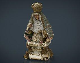 Virgen de la Macarena 3D model