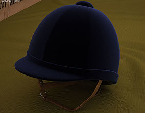 3D model Riding Helmet
