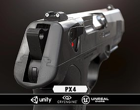 game-ready PX4 Storm - Model and Textures