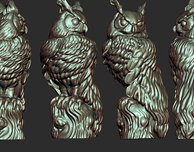 figurines OWL Bust 3D model Ready for 3D Print