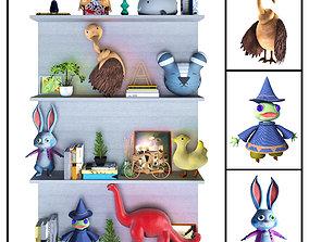3D Children Decor Shelf