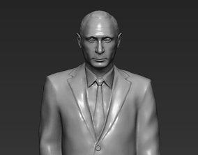 Vladimir Putin 3D printing ready stl obj formats