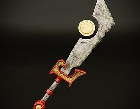 3D asset Retribution Paladin Artifact Weapon