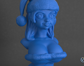 Sexy Santa Helper 3d Printable Bust