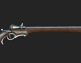 Rifle 1 3D model