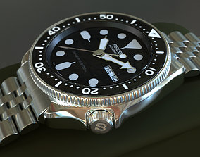 Seiko SKX - Watch - 3D model household
