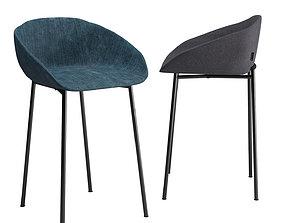 Calligaris love stool 3D model
