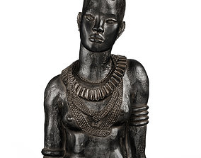 Anna Quinquaud Portrait of African women 3D model