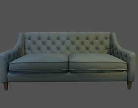 3D model Sofa with color variations