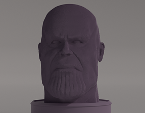 Thanos blocky sculpture 3D print model