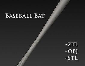 handgun Baseball Bat 3D model