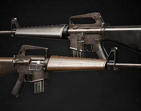 M16A1 3D asset
