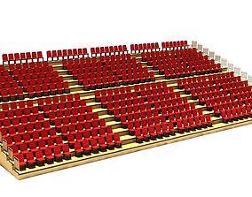 open 3d Stadium and Cinema Theatre Tribune