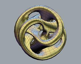 3D printable model Compact Moebius Linked