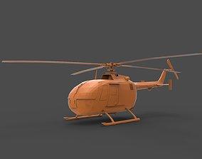 BO 105 3D printable model