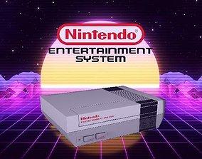 Nes Nintendo Entertainment System 3D asset