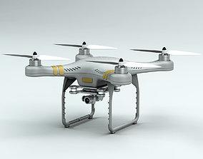 3D DJI Phantom 3 Camera Drone