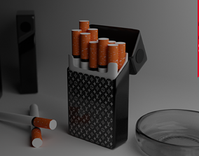 FANCY CIGARETTE PACK 3D model