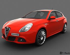 3D model Alfa Romeo Giulietta 2011