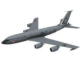 3D asset Boeing KC-135 R Stratotanker Singapore Air scheme