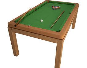 3D American Pool Table