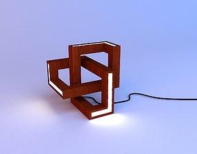 3D Parametric curly lamp