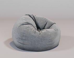 3D round bean bag cosy