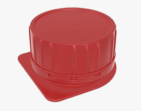 3D Cardboard box packaging cap