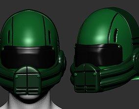 safety helmet high poly sculpt 3d printable