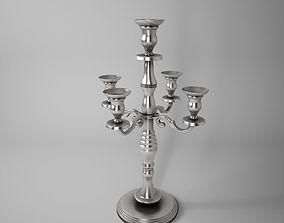 Antique Candle Holder 3D model
