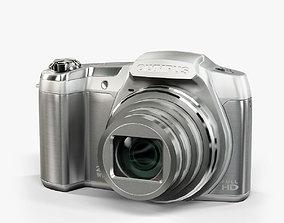 3D model Olympus Stylus SZ16 Silver compact digital camera