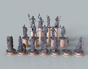 3D printable model Pantheon of greek gods 3dprint