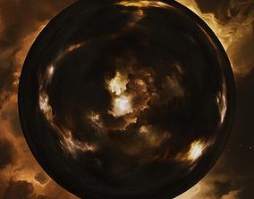 Nebula Space Environment HDRI Map 015 3D model