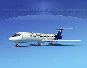 Douglas DC-9-30 AirTran Airways 3D model