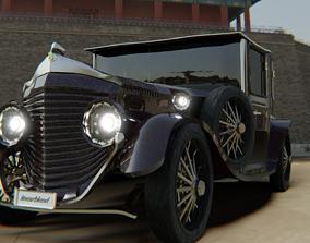 Bentley 1930 Morgan 3D asset