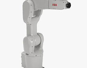 Industrial Robot ABB IRB 1200 3D model